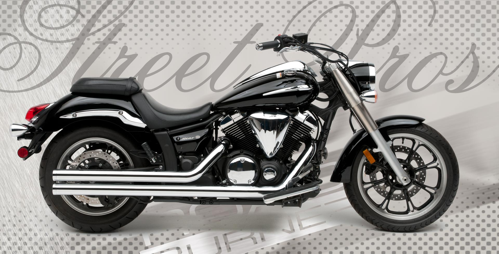 v star 1100 pro street with Motorcycle Exhaust on Harley Davison Motorcycles new as well 1484 Hypercharger Kit Yamaha Road Star moreover 3285 Drzaky Brasen Yamaha Drag Star 650 Classic together with Picture bike as well Yamaha Motorcycles For Sale 546 48.